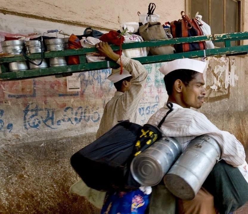 Interkulturelles Training Indien, die Dabbawalas